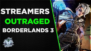Borderlands 3 Streamers outraged 2Mb constant upload and Keylogger accusations
