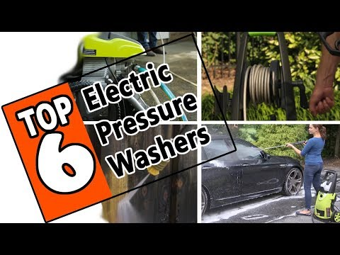 🌻 Best 6 Electric Pressure Washers of 2019. Review of Top-Rated Pressure Cleaners On The Market