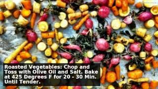 Roasted Cinnamon Veg Wheat Berry Salad With Lemon