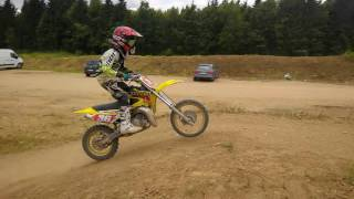 Suzuki RM65 training on Brnik track