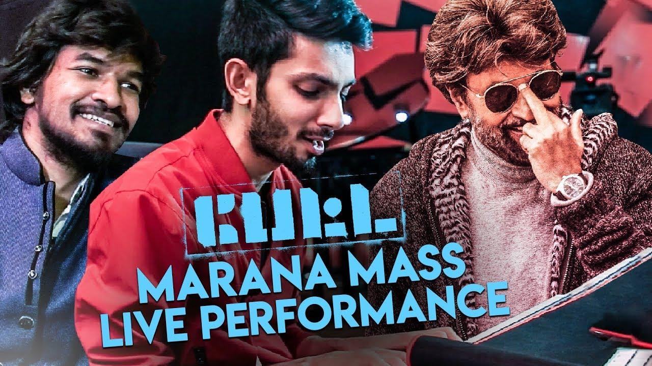 Anirudh's Petta Marana Mass RAW Performance | Madan Gowri | MG SHOW