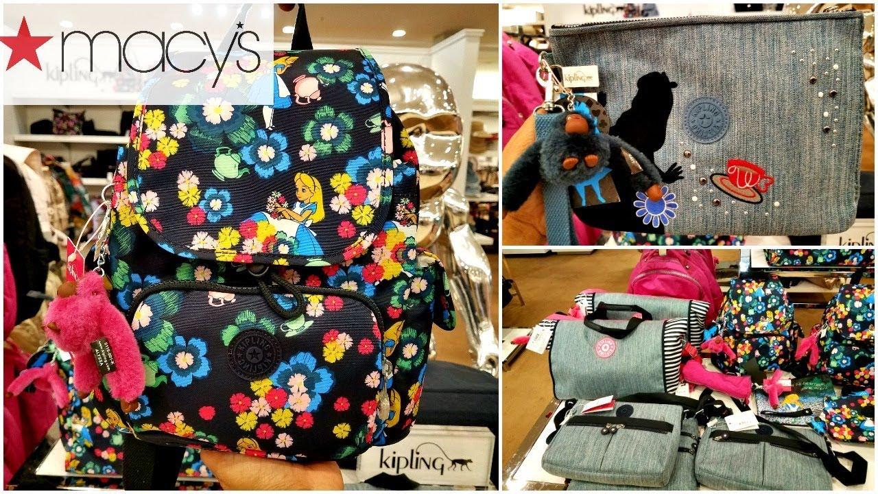 With Me Macy S Kipling Disney Handbags Backpacks Wallets Walk Through 2018