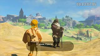 The Legend of Zelda: Breath of the Wild Great Plateau 100% Speedrun in 51:45