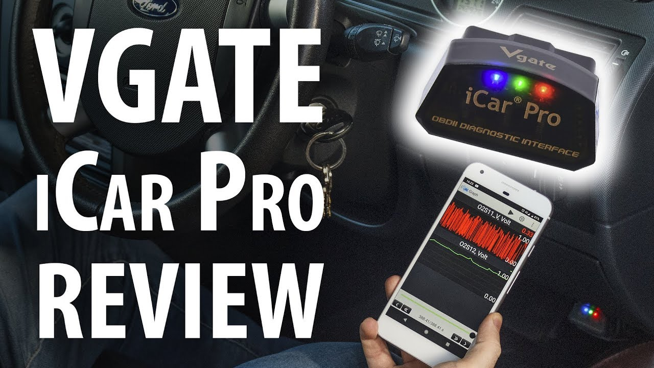 Review: Vgate iCar Pro OBD-II scan tool, Bluetooth 4 BLE
