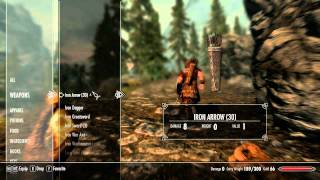 Skyrim Gameplay Maxed out Graphics | GTX 570