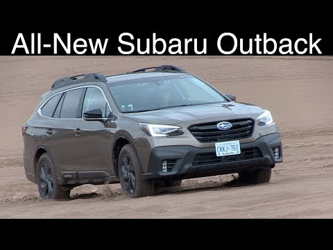 All-new Subaru Outback review // The turbo is back and new trim.