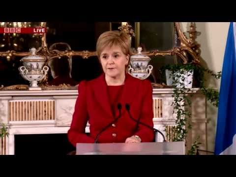 Full Press Conference - Nicola Sturgeon on #indyref2 after the #Brexit vote