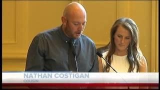 Tara Costigan funeral