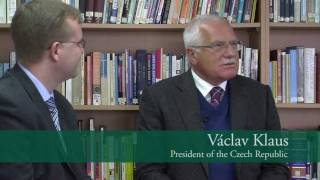 Dr Oliver Marc Hartwich and Dr Václav Klaus on the Czech President's 3rd visit to Australia