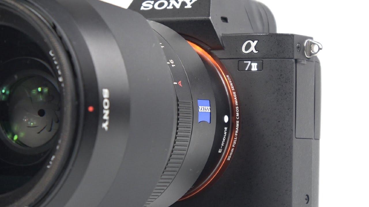 Hướng dẫn sử dụng Sony a7II Alpha – So sánh Sony a7II và Canon 6D