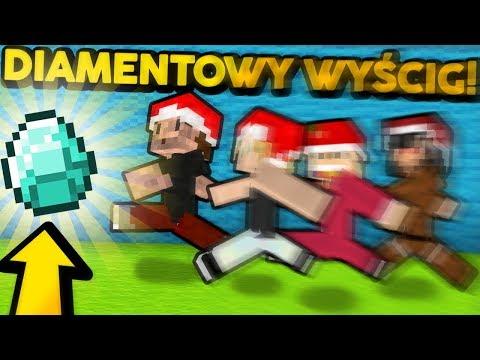 Wyścig po DIAMENTY w MINECRAFT! - Minecraft #SUPERTEAM