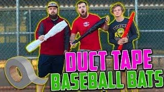 Duct Tape Baseball Bat Challenge!