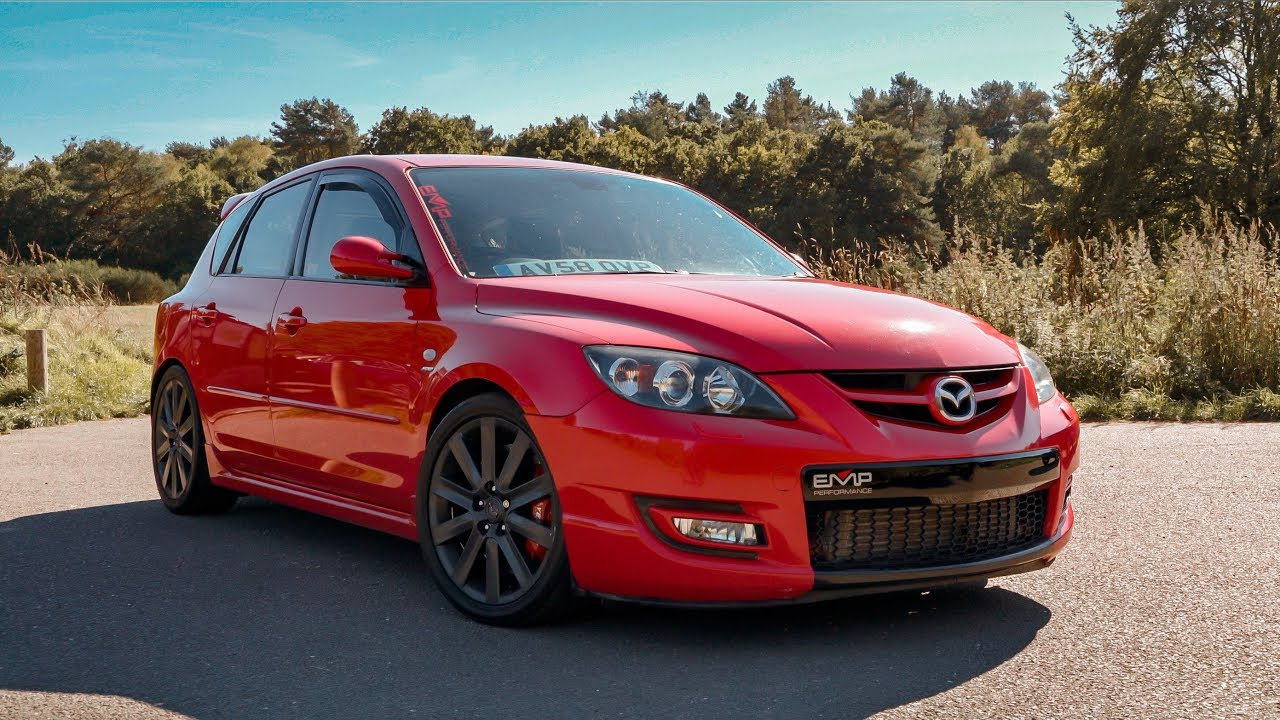 most powerful 535bhp mazda 3 mps in uk youtube. Black Bedroom Furniture Sets. Home Design Ideas