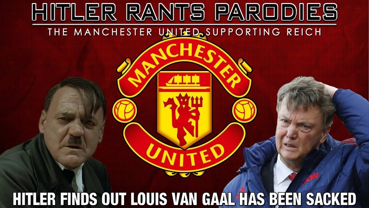 Hitler finds out Louis van Gaal has been sacked