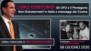 LORO ESISTONO! Gli #UFO e il #Pentagono: navi ET in Italia e messaggi dal #cosmo