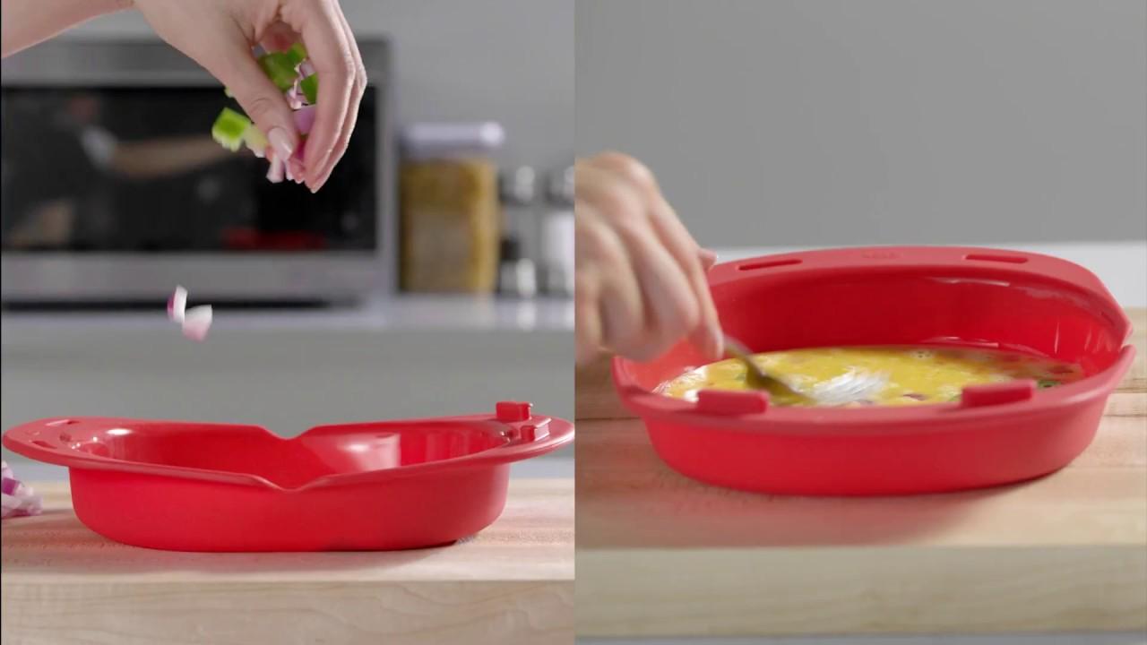 oxo good grips microwave omelet maker