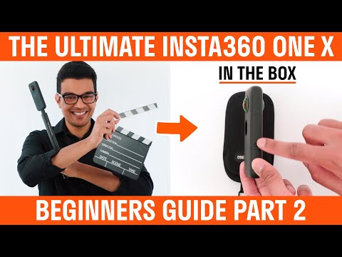 Insta360 One X Beginners Guide | Part 2 | In The Box