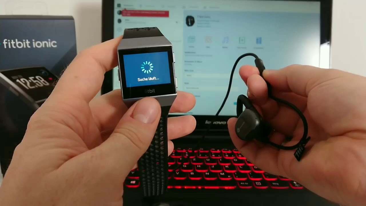 how to download music to fitbit ionic from itunes