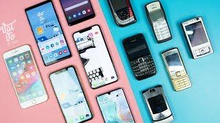 Cuộc sống với smartphone 11 năm trước