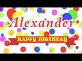 Happy Birthday Alexander Song