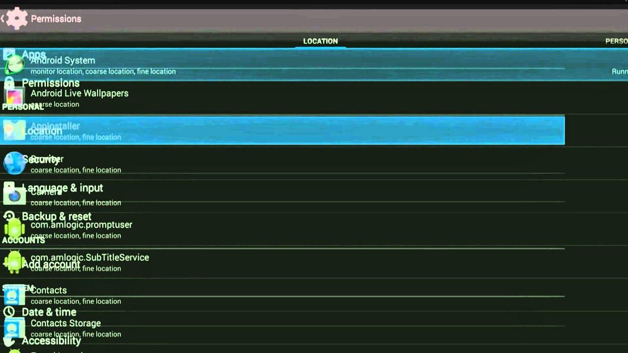 quad core smart android tv box os 4 4 2 vigica v5 full menu