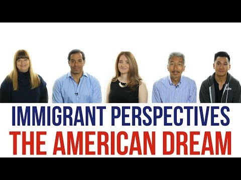 an immigrants dream for a better life