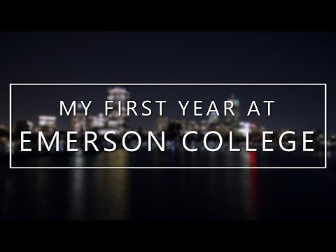 My First Year at Emerson College