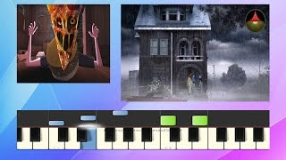 Gorillaz - Saturnz Barz (Spirit House) - Piano Tutorial - (Synthesia)