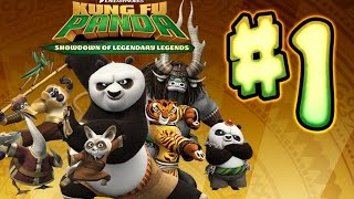 Kung Fu Panda: Showdown of Legendary Legends Walkthrough Part 1 (PS3, X360, PS4, WiiU) Gameplay 1