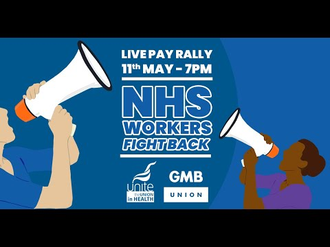 LIVE: Rally for NHS Pay