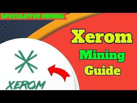 Xerom | Speculative Mining | Ethash ALGO