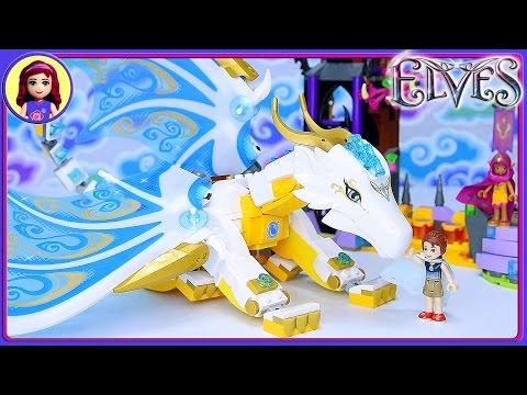 Elves Queen Dragon's Rescue Lego Build Part 2 Review Silly Play – Kids Toys