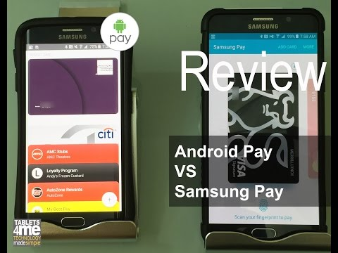 Why I Chose Samsung Pay over Android Pay