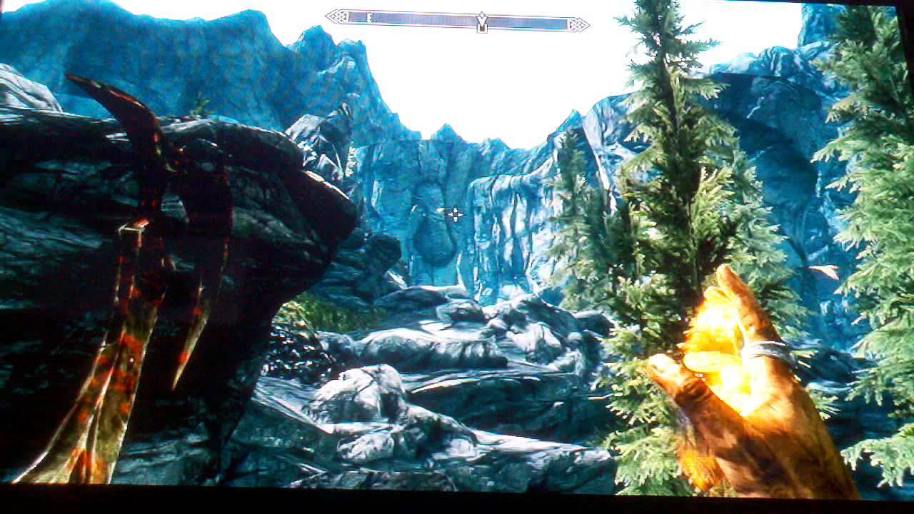 Skyrim Killing A Hawk In Its Nest Elder Scrolls V Youtube