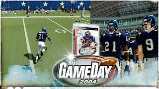NFL GAMEDAY 2004 PS2 in 2018 Cowboys vs.Chargers Thriller!!! 4K Gameplay!
