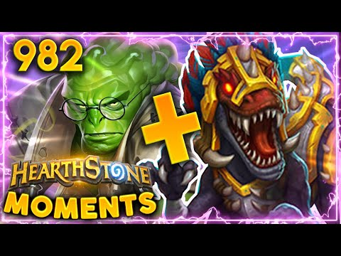 Gonk's NEW COMBO Is Completely BROKEN!!! | Hearthstone Daily Moments Ep.982