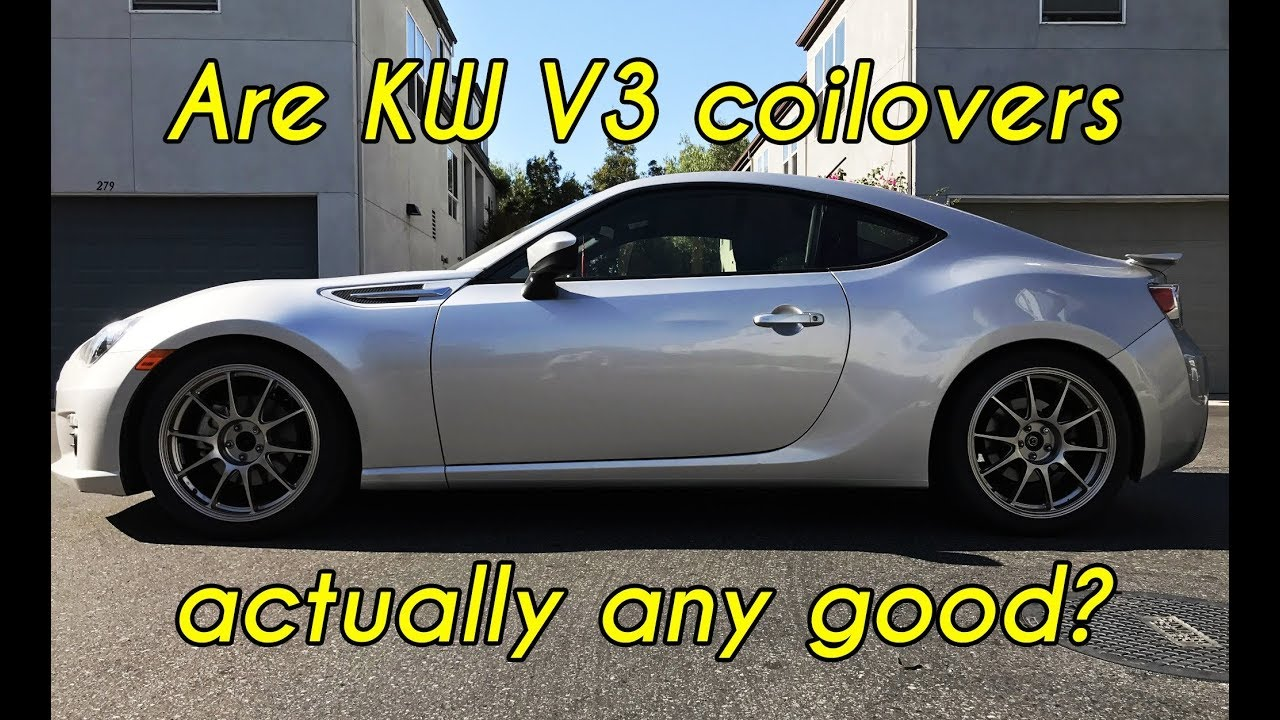 Should you install coilovers on your BRZ/FRS/86? - Stock ...