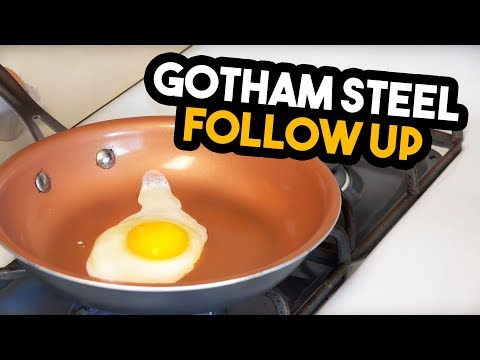Gotham Steel Pan- Six Month Follow Up