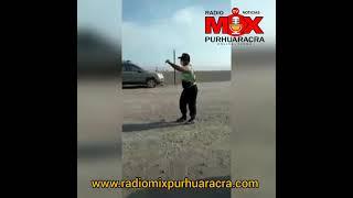 Policía Saca Su Armamento y apunta a un Ciudadano 🔫 y Acusa de Atropello