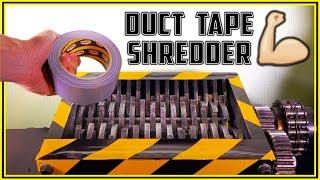 Duct Tape vs Shredder