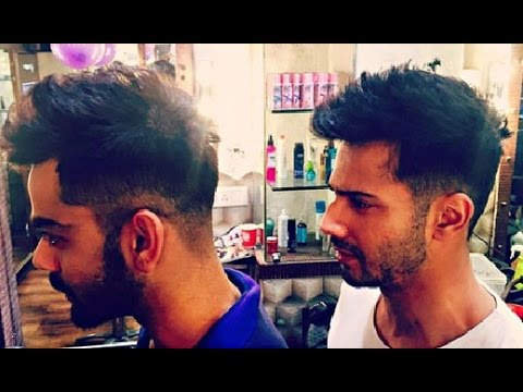 Varun Dhawan New Hairstyle INSPIRED From Virat Kohli - YouTube