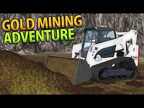 AMAZING GOLD MINING ADVENTURE | PAY DIRT | FARMING SIMULATOR 17
