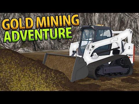 AMAZING GOLD MINING ADVENTURE | PAY DIRT | FARMING SIMULATOR 17