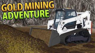AMAZING GOLD MINING ADVENTURE   PAY DIRT   FARMING SIMULATOR 17