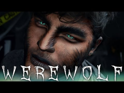 Werewolf Halloween Makeup Tutorial | 31 Days of Halloween