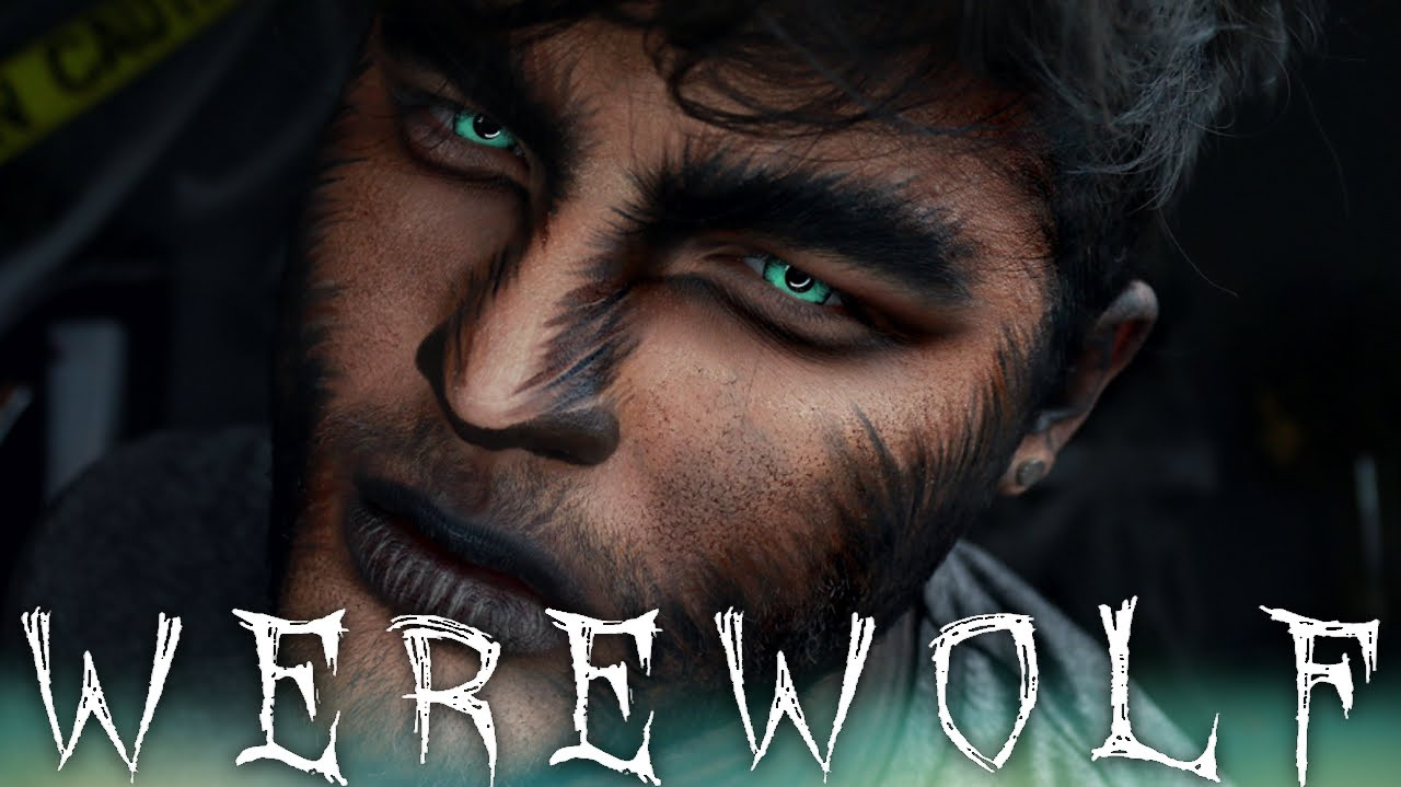 werewolf halloween makeup tutorial 31 days of halloween youtube