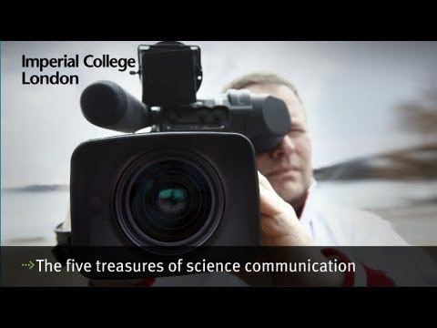 The five treasures of science communication