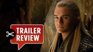 Instant Trailer Review - The Hobbit: The Desolation of Smaug TRAILER 2 (2013) - Lord of the Rings
