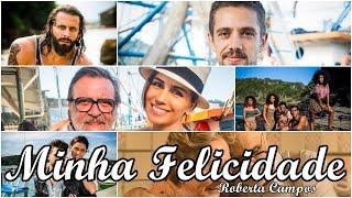 Minha Felicidade - Roberta Campos | Sol Nascente [Legendado] TEMA DE ABERTURA