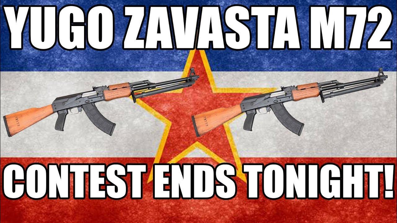 Video: Yugo Zavasta M72 Contest Ends Tonight